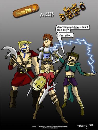 Fan Art – Diablo II by Dave Grabert
